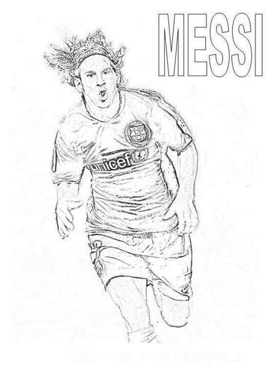 Lionel Messi After Scoring Goals Coloring Pages Sports Coloring Pages Messi Coloring Pages