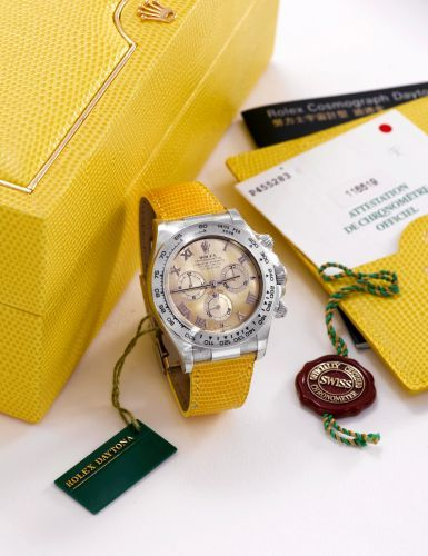 Rolex Daytona Beach 116519 Yellow
