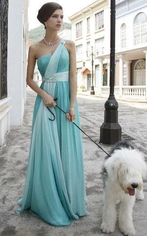 Normale Taille Sweep Zug ärmellos Chiffon luxus bodenlanges Abendkleid