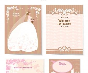 Vintage wedding invitation vector free vectors images in eps and vintage wedding invitation vector stopboris Image collections