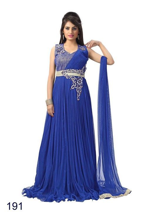 Embrodadered Anarkali Partywear Gown INR 4575.00 X'mas / New Year Offer. Top- Net Bottom- Santoon Duppta- Net Inner- Santoon Type- Ready Made. Worldwide & Free shipping in India. For more details and booking contact us on sbtrendz@gmail.com or Whatsapp 91 9495188412; Visit us on http://ift.tt/1pWe0HD or http://ift.tt/1NbeyrT to see more ethnic collections. #designergown  #SalwarSuit #salwarkameez #CrepeSalwar #GeorgetteSuit #CottonSuit #Lehenga #AnarkalaiSuit #BollywoodReplica #Saree…