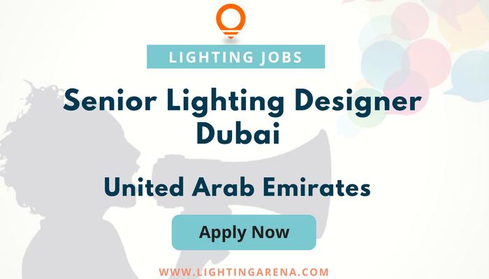 Senior Lighting Designer u2013 Dubai Senior Lighting Designer u2013 Dubai required for a top international lighting studio based in Dubai.  sc 1 st  Pinterest & Senior Lighting Designer u2013 Dubai - United Arab Emirates https://www ...