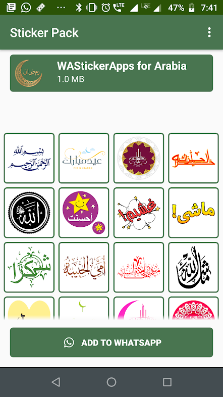 Get Free Stickers Pack For Whatsapp In Arabic Language Send Stickers To Your Friend In Your Language Share Joys Fun Excitements B Sticker App App Easy Apps