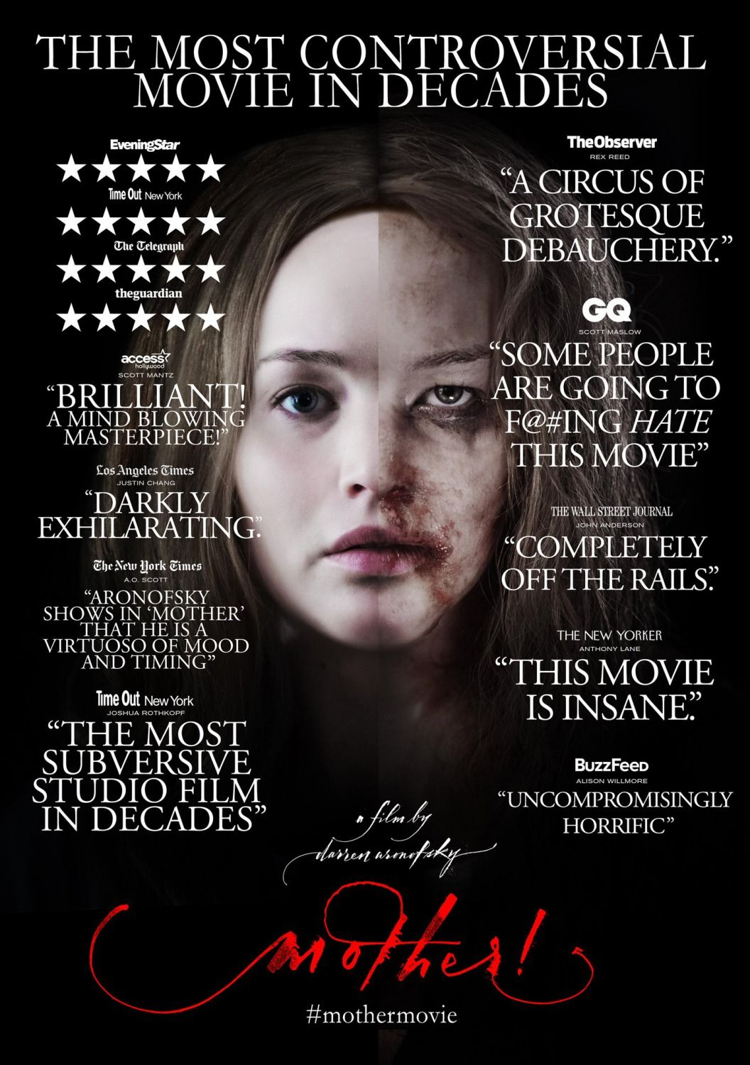 Mother Streaming Movies Free New Movie Posters Jennifer Lawrence
