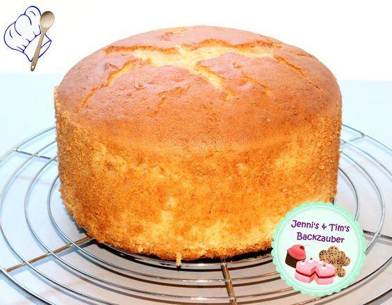 Hoher Rhrkuchen geeignet fr Motivtorten  Cake