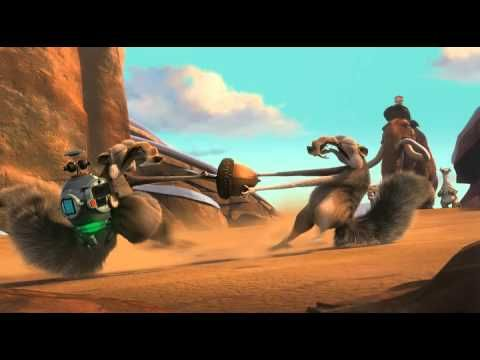 Ice Age: Scrat the saber toothed squirrel in No Time For Nuts