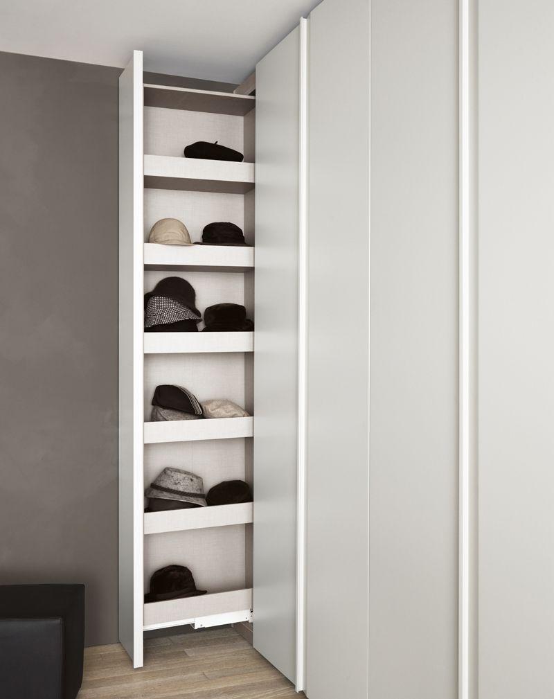 Loft bedroom with walk in wardrobe  handbag storage  Google Search  BEDROOM  Pinterest  Storage and