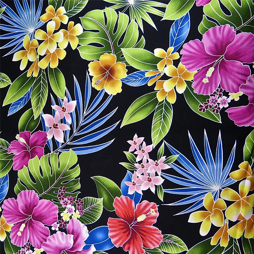 Nature Themed Floral Pattern Floral Print Background Hawaiian