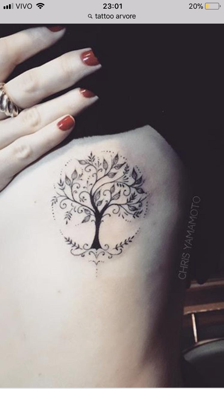 Árvore   Life tattoos, Tree tattoo designs, Family tree tattoo