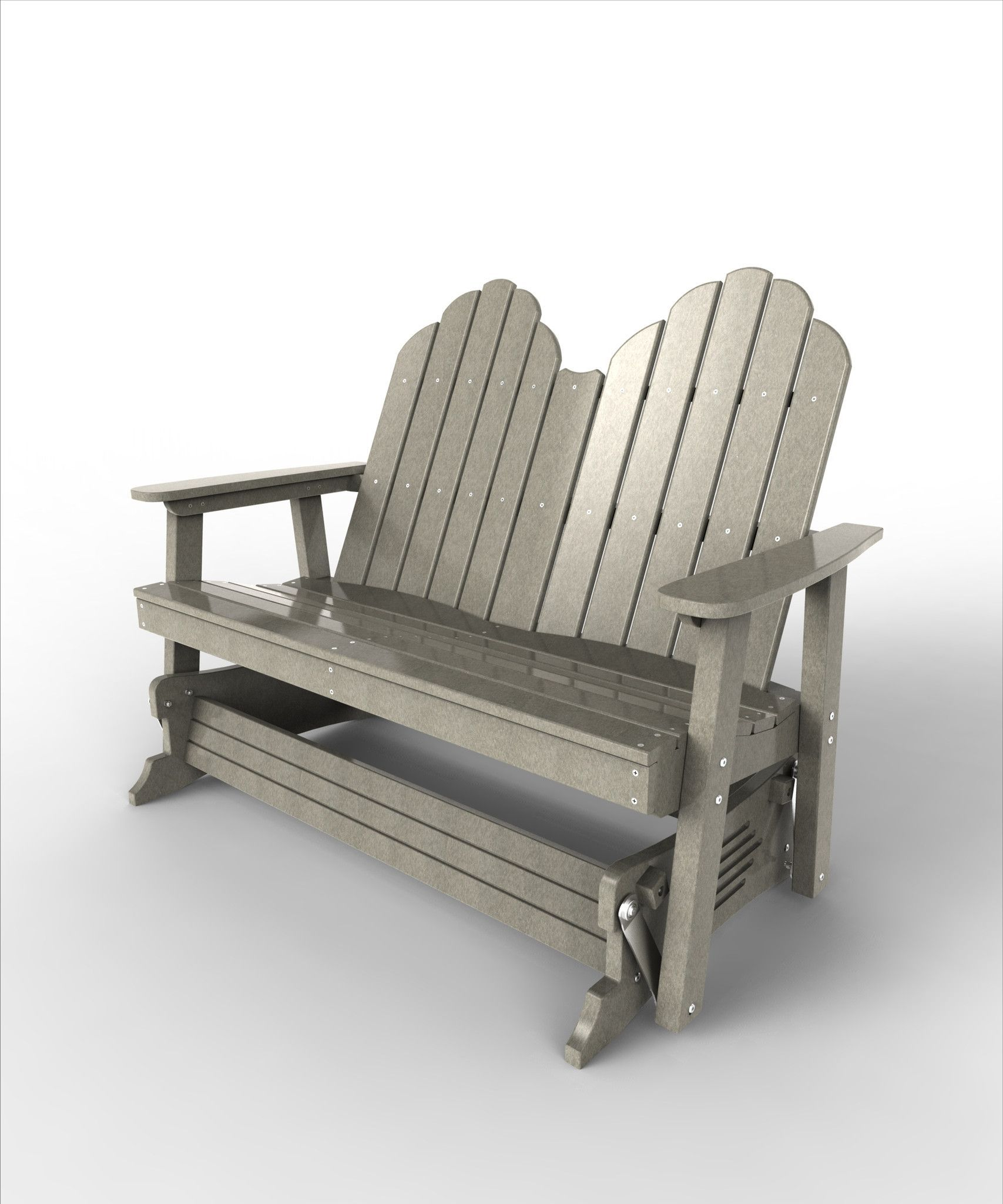Malibu Outdoor Living Yarmouth Double Patio Glider Chair