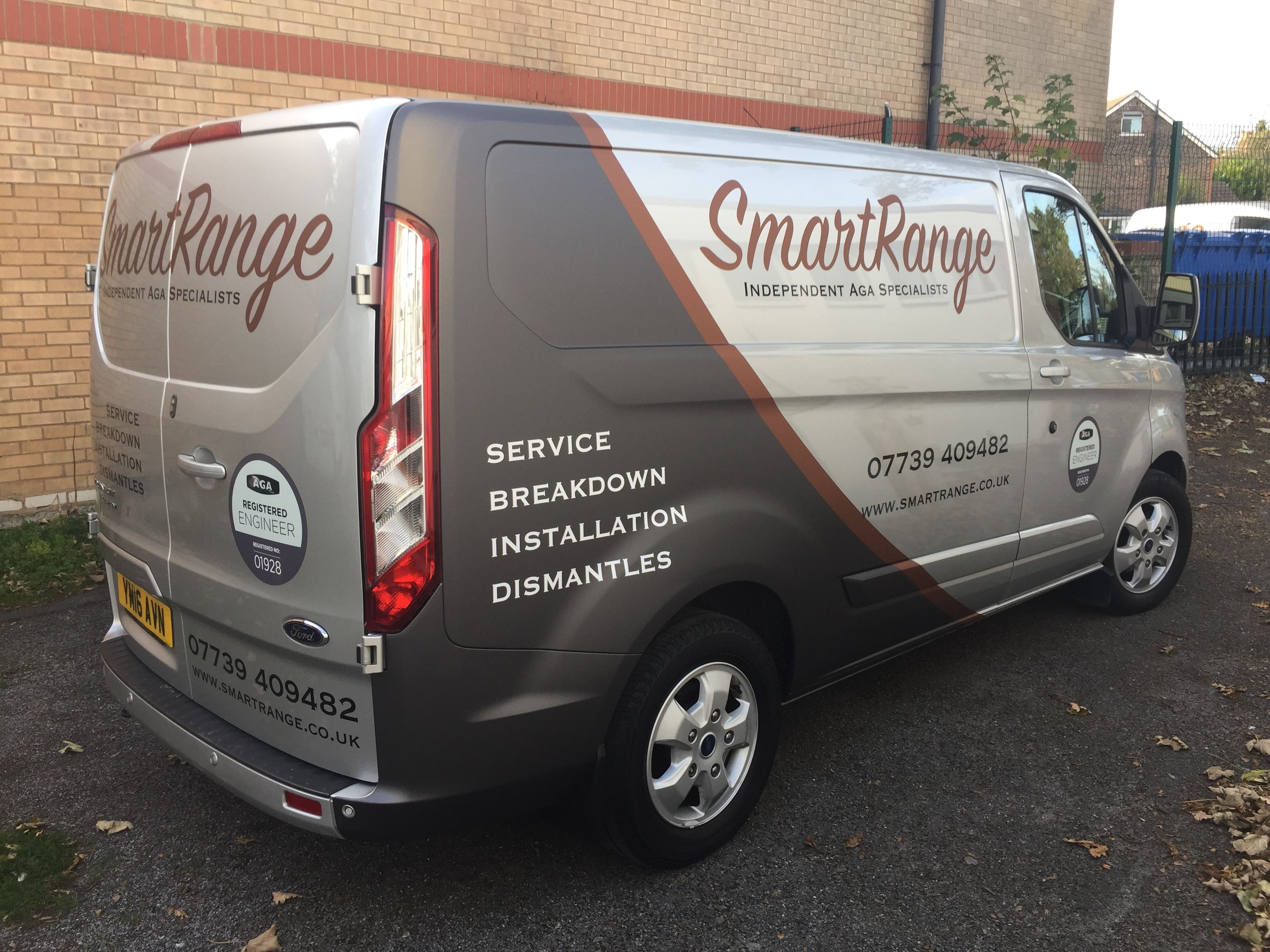 cc421bfde7f714 Partial Wrap to Ford Transit Custom for Smart Range  vehiclegraphics  wrap   decals  stickers  partialwrap  Transit  eastgrinstead  printing  design