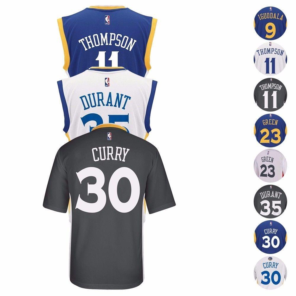 d6ee2c464d1c 2016-17 Golden State Warriors Adidas Nba Replica Player Jersey Collection  Men S Adidas Nba