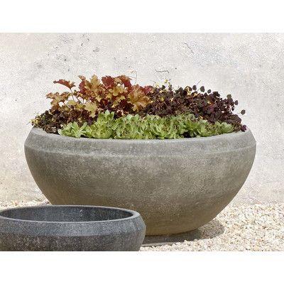Giulia Cast Stone Pot Planter With Images Stone Planters Large Garden Planters Planters
