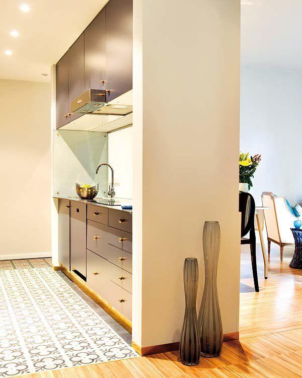 La reforma perfecta kitchen pinterest cocinas - Suelo hidraulico cocina ...