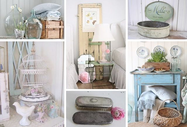 Shabby Chic Style Déco Décoration Chambre Salle De Bain Salon Brocante  Vintage Romantique