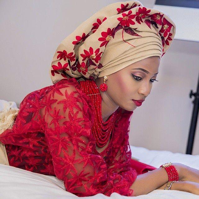 Traditional Nigerian Wedding Gowns: Traditional Nigerian Bride ~Latest African Fashion