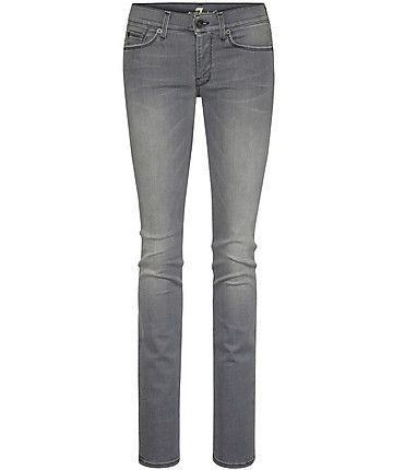 """7 for all mankind Jeans """"Straight Leg in New Toronto Grey""""  #grey #denim #www.fashion.engelhorn.de"""