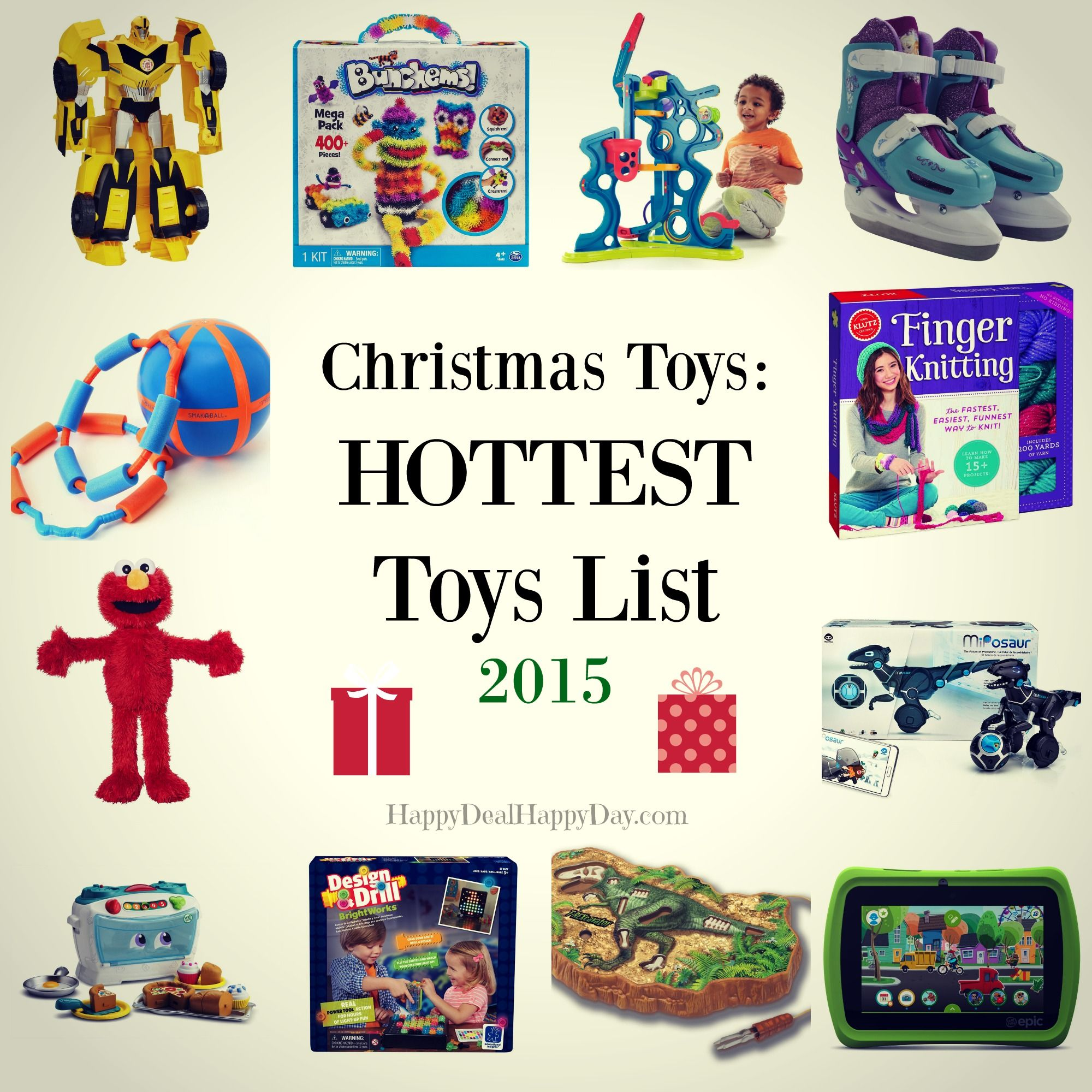 Christmas Toys:  HOTTEST Toys List 2015.  Shop early before some of these sell out before Christmas!