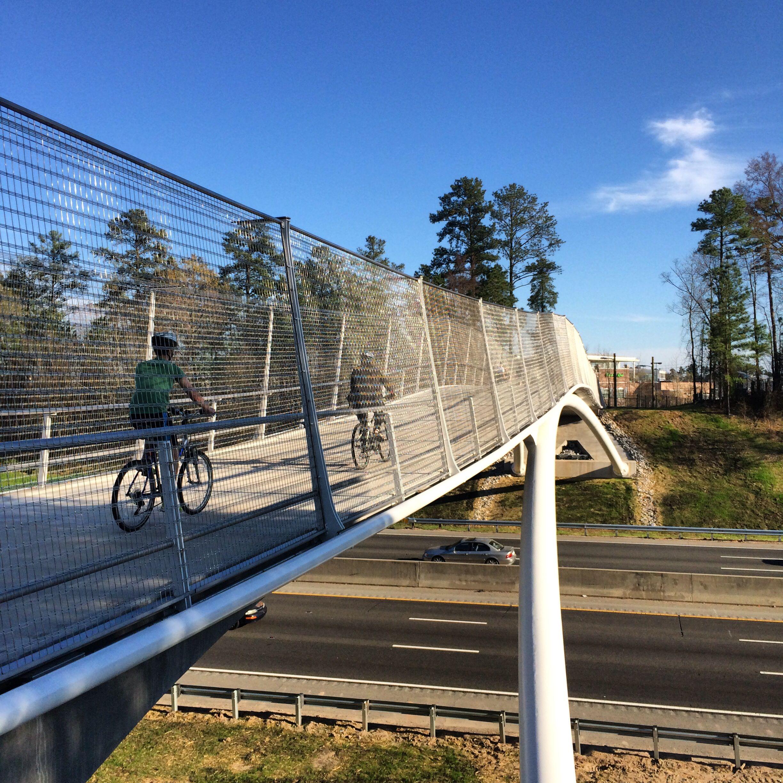 Roller skating rink durham - New Bridge Across I 40 On The American Tobacco Trail Durham Nc Http