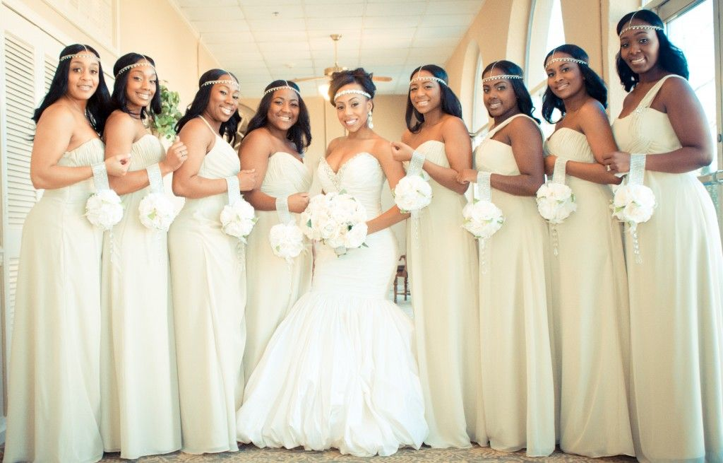 Real Bridesmaids In Our Stunning And Elegant Bridesmaid: Real Weddings {Georgia}: Blair
