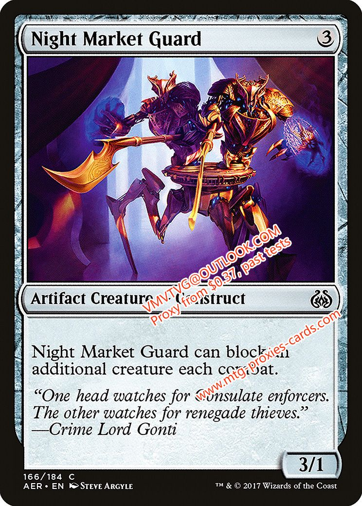 Night Market Guardxlhq Magic The Gathering Proxy Mtg Proxies Cards