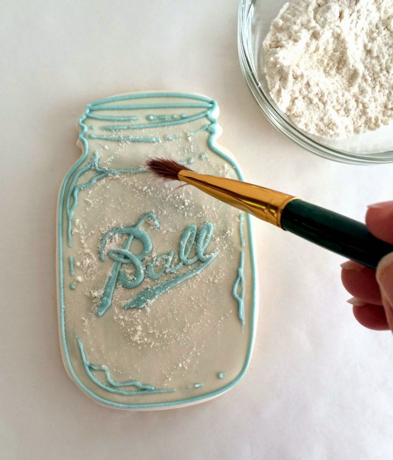 How to directions for the ball jar cookies