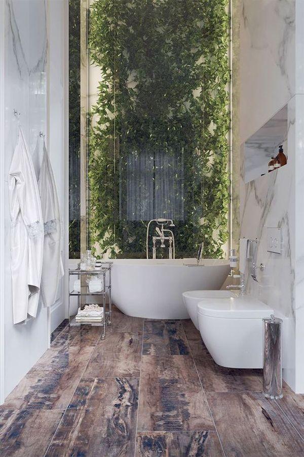 Photo of 20 von der Natur inspirierte Badezimmer, die Sie erfrischen werden