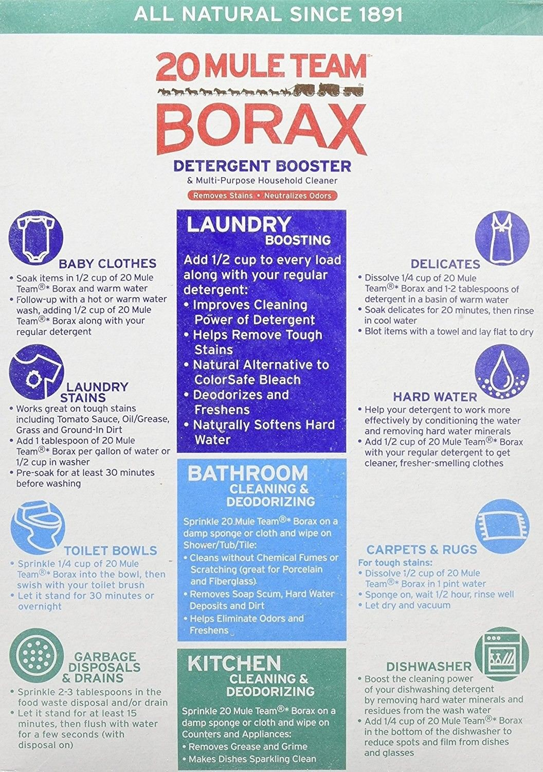 Use Borax To Create Your Own Detergent Or Bathroom And
