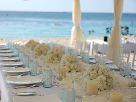 Beach Theme Wedding Decor