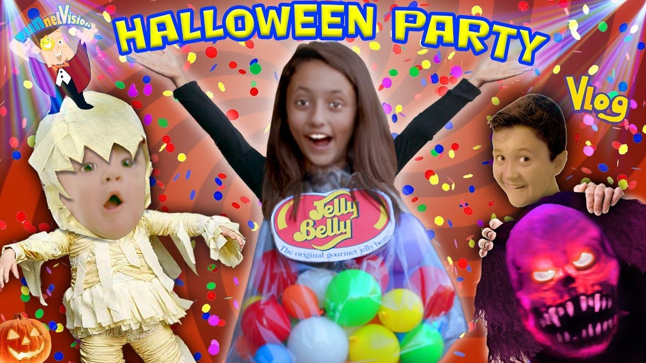 SCARIEST KIDS HALLOWEEN PARTY EVER w/ Costume Contest! FUNnel ...