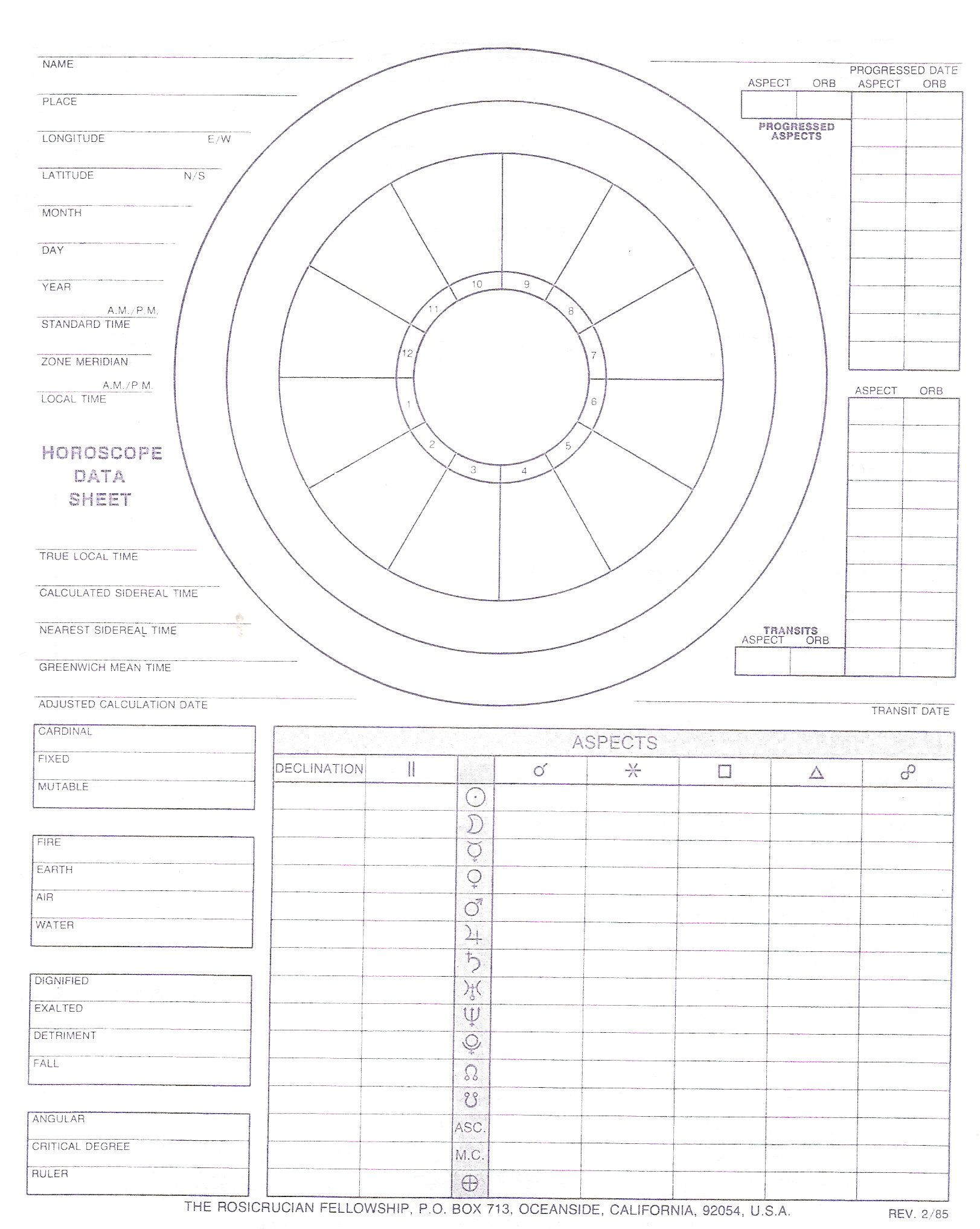 Color Wheel Worksheet Blank With Data And Worksheet 2 Sided Front