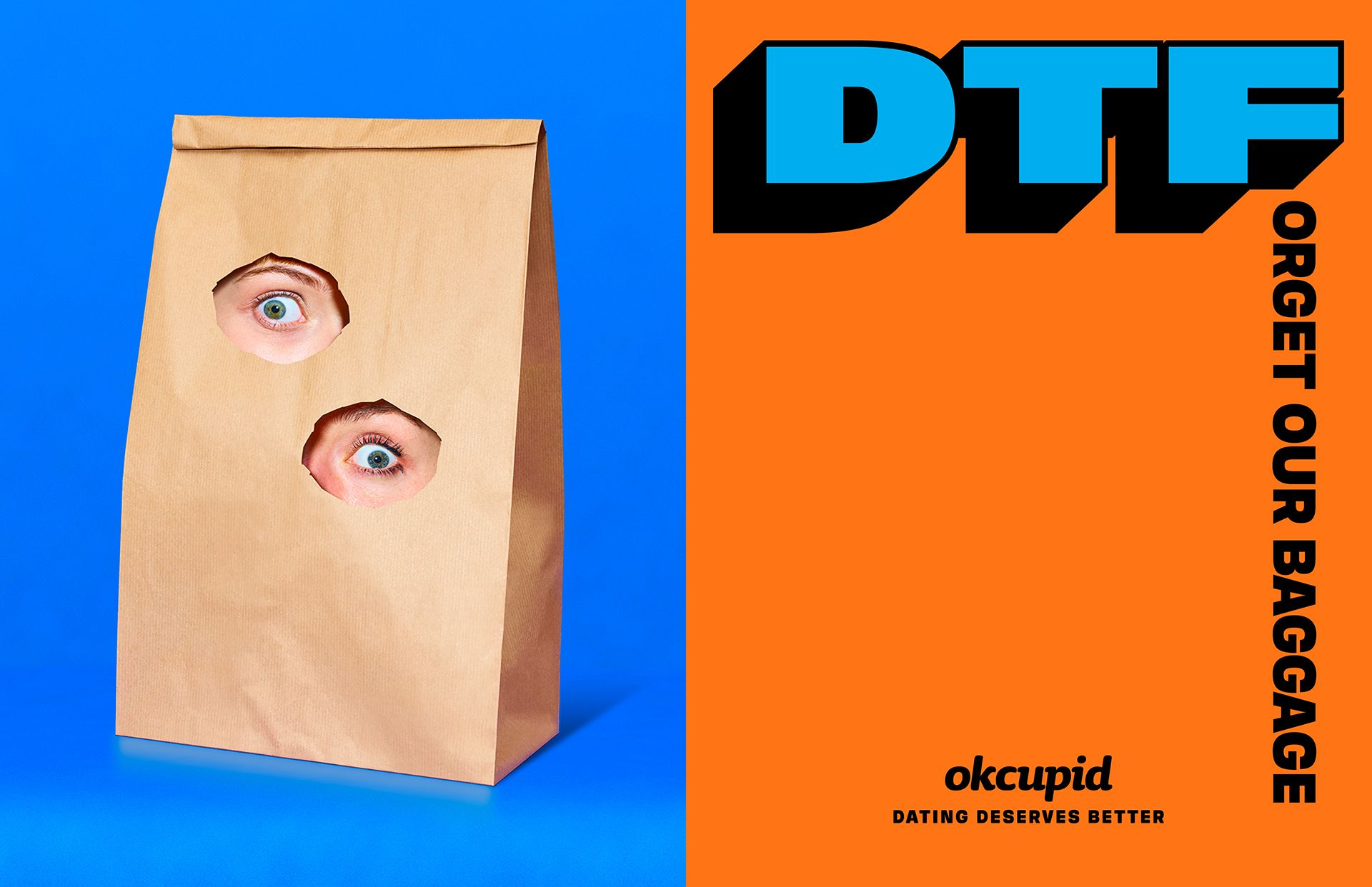 OkCupid's First Ad Campaign Is Down to Focus On More Than