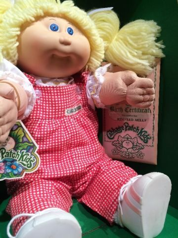 Vintage 1983 Cabbage Patch Kid New In Box Toys Games Cambridge Kijiji Cabbage Patch Dolls Cabbage Patch Kids Cabbage Patch