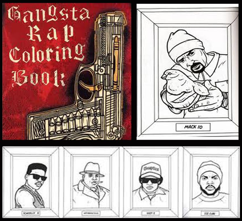 - Not Your Typical Fairytale Stories... · Tougher Than Eminem – Gangsta Rap Coloring  Book Coloring Books, Gangsta Rap, Words Coloring Book