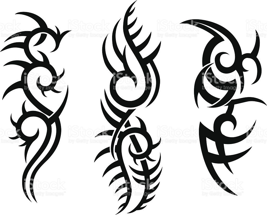 Tribal Tattoo Design Stock Vector Art Amp More Images Of