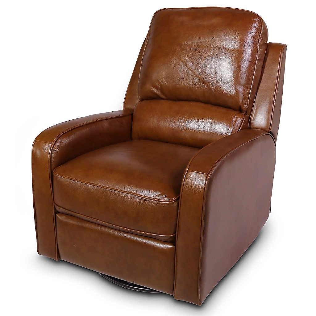 Prime Saddle Leather Swivel Glider Recliner Arizona Home In 2019 Caraccident5 Cool Chair Designs And Ideas Caraccident5Info