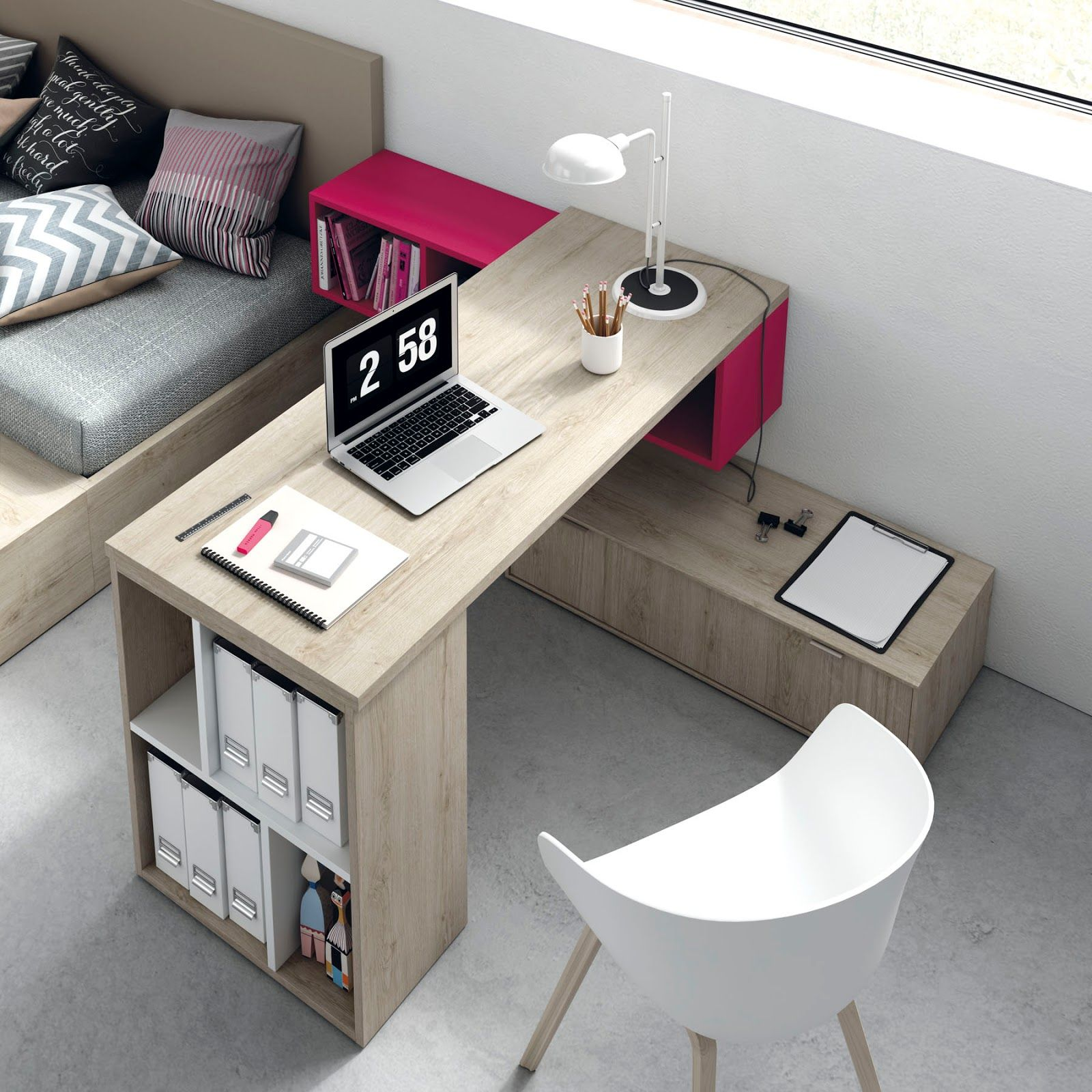 Dormitorios Juveniles E Infantiles Tegar Mobel Zonas De Estudio  # Muebles Tegarmobel