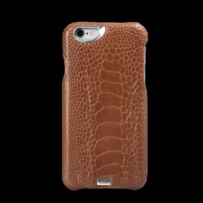 iPhone 6/6s Plus - Grip Struzzo Leather Case