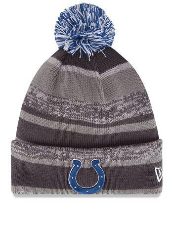 c89123cfc79 Colts New Era Team Sport Knit Hat