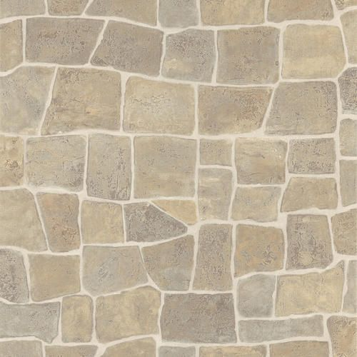 Taupe Slate Rock Wall Wallpaper With Images Wall