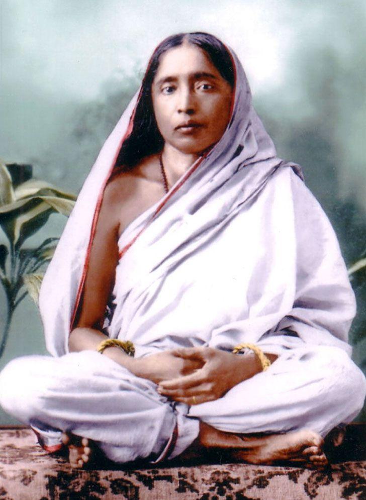 Photos of Holy Mother Sarada Devi - Photo Gallery - Vedanta ...