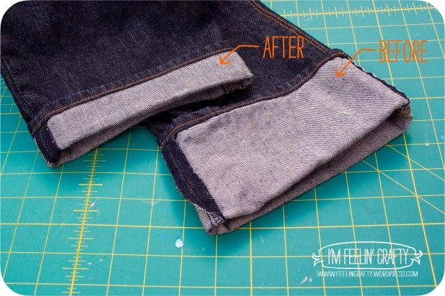 How To Hem Pants With A Cuff Pin On Sewing Clothing Techniques