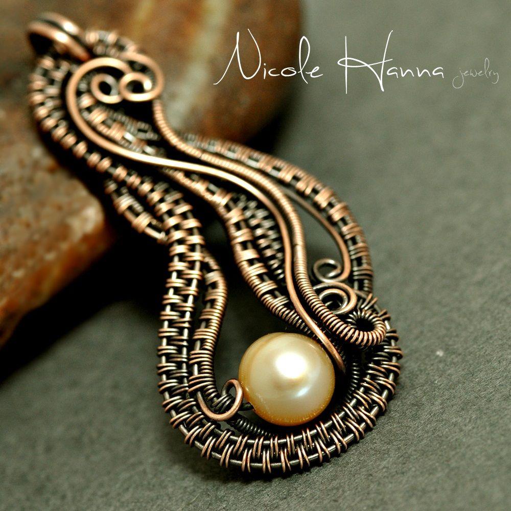Eight Beautiful Wire-Weaving Jewelry Tutorials | Brandywine Jewelry ...