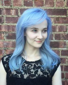 blue frost hair color nyc salon downtown cool | Mermaid Hair ...