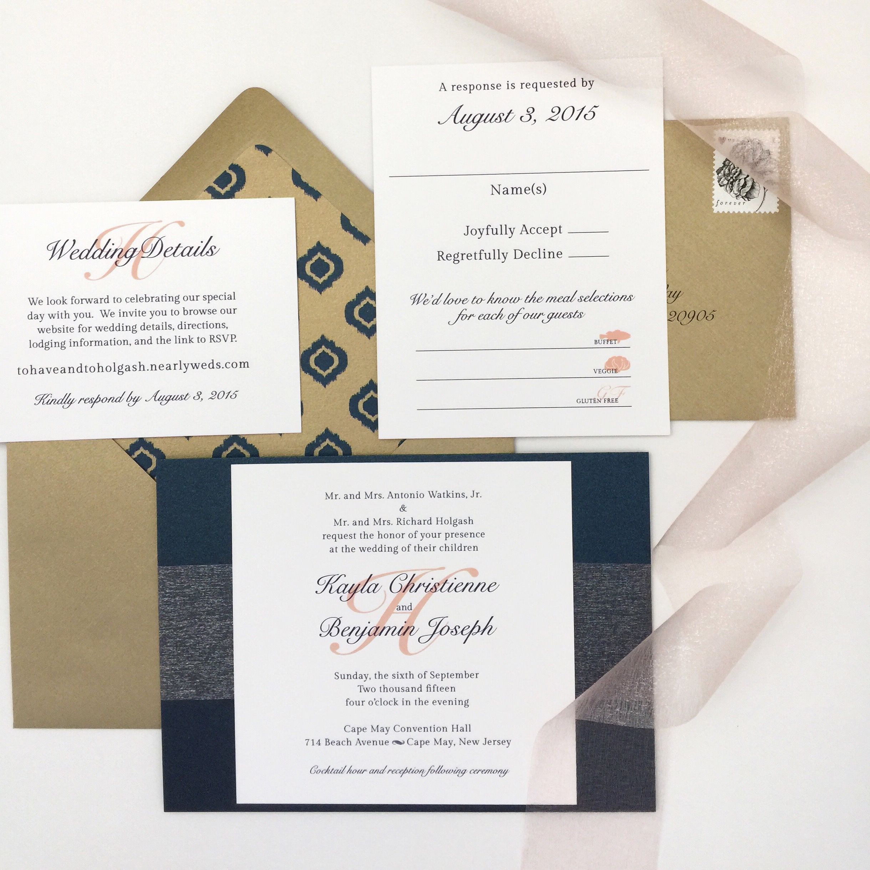 Custom: Wedding Invitation Suite