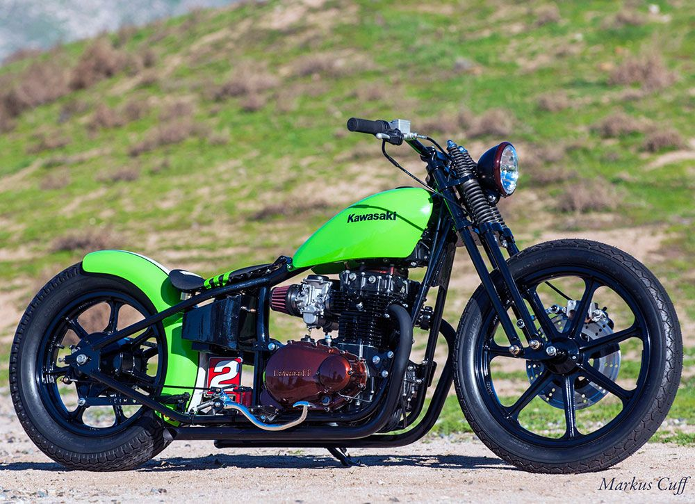 K&N's Todd White Built a 1981 Kawasaki KZ440 Just in Time
