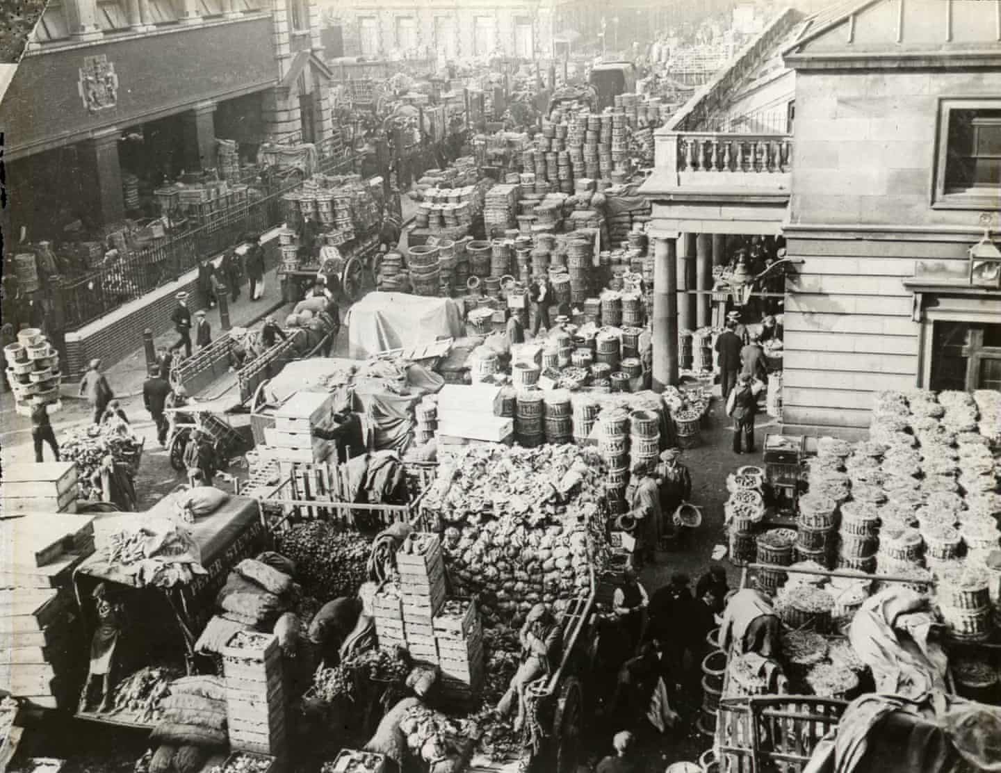 Some reinvented, others long lost London's markets 100