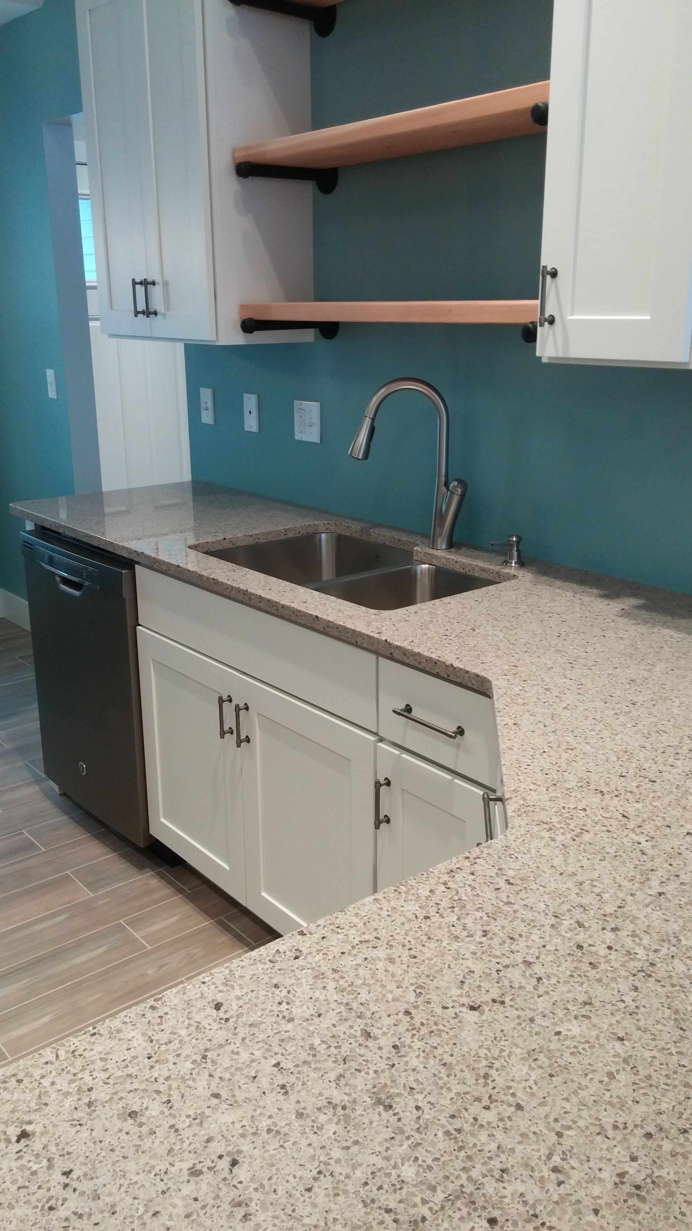 How Much Are Quartz Countertops Installed Lg Viatera Juniper Trail Quartz Counter We Installed In