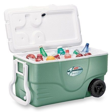 Coleman Wheeled Ultimate Extreme Cooler 50 Qt Rei Co Op Camping Fridge Camping Gear Camping Coolers