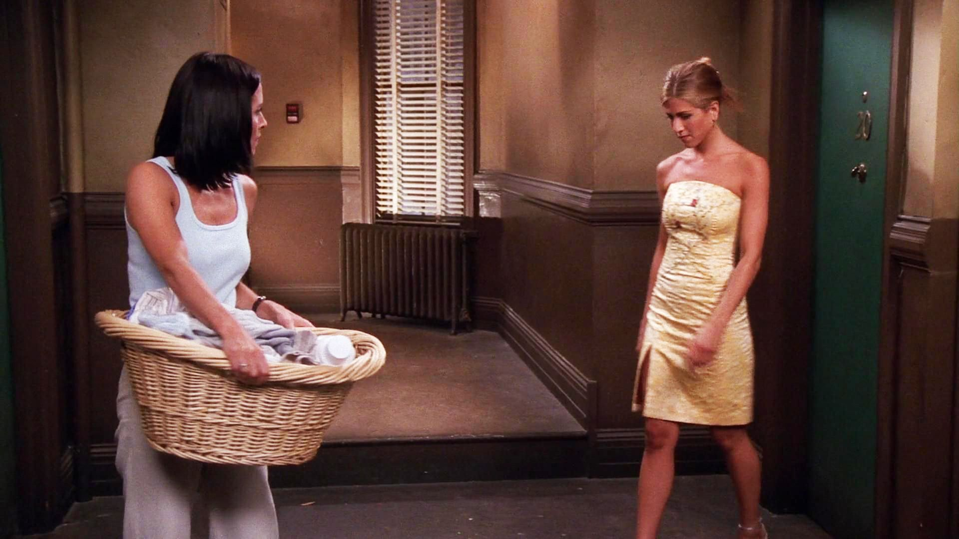 Season 5 Yellow Dress Obsessed With This Dress Rachel Green Outfits Rachel Green Friends Rachel Green Style [ 1080 x 1920 Pixel ]